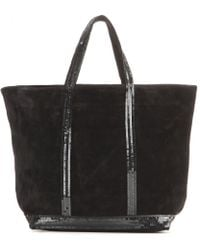Vanessa Bruno Cabas Medium Suede Shopper - Lyst