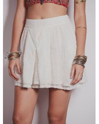 Free People Lacey Go Lightly Skirt - Lyst
