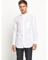 Lacoste Mens Oxford Shirt - Lyst