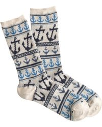 Anonymous Ism - Anchor Socks - Lyst