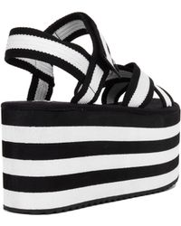 YRU - Prizm Flatform Sandals - Lyst