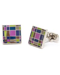 Duchamp Multicolor Mirage Cuff Links - Lyst