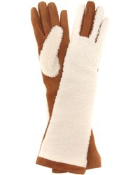 Acne Studios - Mytheresa. Com Exclusive Greta Shearling And Suede Gloves - Lyst