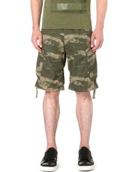 G-star Raw Wave Camo Shorts Combat - Lyst