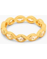 Gorjana 'Blakely' Crystal Ring - Lyst
