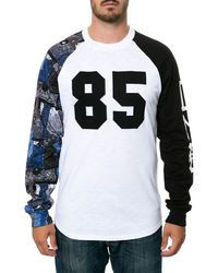 Crooks And Castles The Luxe Bandit Raglan - Lyst