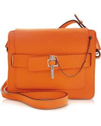Carven Orange Small Malher Bag - Lyst