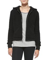 ATM Hooded Fleece Jacket - Lyst