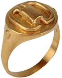 Maria Black Ring - Lyst