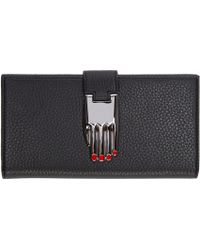 Opening Ceremony - Black Leather Continental Misha Wallet - Lyst