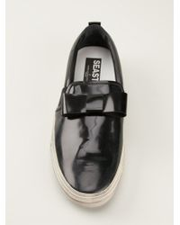 Golden Goose Deluxe Brand Bow Slipon Sneakers - Lyst