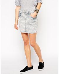 Blend She - Rio Denim Skirt - Lyst