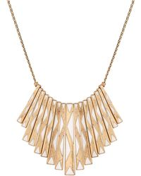 Lucky Brand - Caseline Paddle Collar Necklace - Lyst