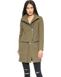 J Brand - Anise Zip Off Coat Alpine - Lyst