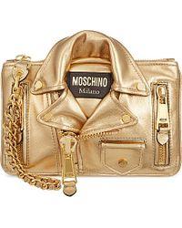 Moschino Jacket Clutch Bag Bag - For Women - Lyst