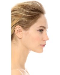 Campbell | Fang Ear Cuff - Gold | Lyst