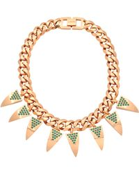 Mawi - Deco Fang Necklace - Lyst