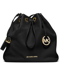 Michael Kors Michael Large Jules Drawstring Shoulder Bag - Lyst