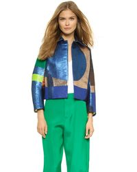 DSquared² Textured Jacket - Multi - Lyst