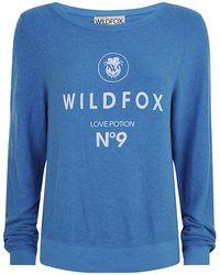 Wildfox No9 Sweatshirt - Lyst