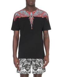 Marcelo Burlon Feather Cotton T-Shirt - For Men - Lyst