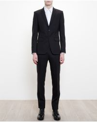 Givenchy Fine Wool Two Button Suit - Lyst
