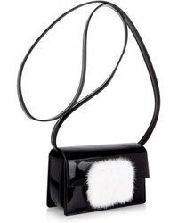 Saint Laurent - Lulu Bunny Patent Cross-body Bag - Lyst