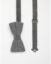 ASOS - Bow Tie In Glitter - Lyst