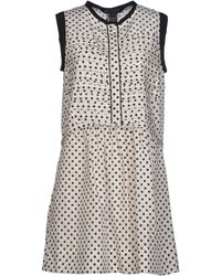 Marc By Marc Jacobs Short Dress - Lyst