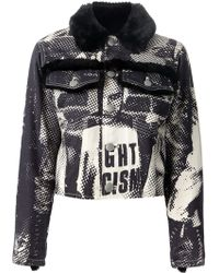 Jean Paul Gaultier Fight Racism Printed Jacket - Lyst