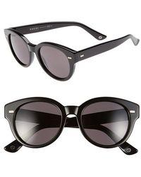Gucci Women'S 50Mm Retro Sunglasses - Black - Lyst
