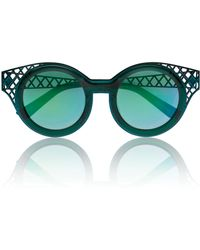House of Holland Frame Ache Bottle Green - Lyst