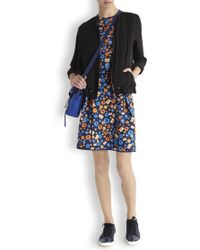 Emma Cook - Floral Neoprene Skirt - Lyst