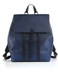 Kenzo Leather Backpack - Lyst