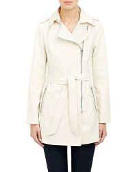 Barneys New York Trench Coat beige - Lyst