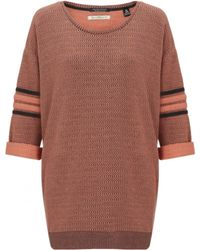 Maison Scotch Baseball Sweatshirt - Lyst