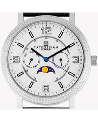 Tateossian - Eclipse Watch In Silver Colour - Lyst