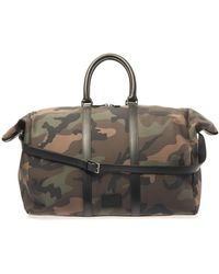 Valentino - Camoprint Weekend Bag - Lyst