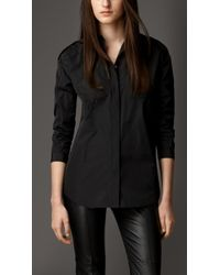 Burberry Dropped Shoulder Relaxed Fit Shirt - Lyst
