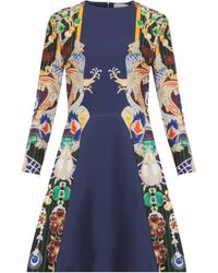 Mary Katrantzou Chrono Printed Dress - Lyst