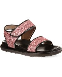Marni East Lake Sandals Pink - Lyst