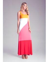 Bebe Petite Maxi Dress - Lyst