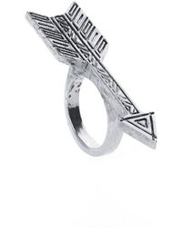 House Of Harlow Arrow Ring - Lyst