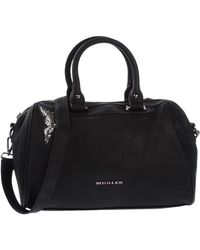 Mugler Faux Leather Tote Bag - Lyst