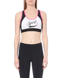 Juicy Couture Mesh Racerback Bra - For Women - Lyst
