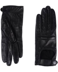 Rag & Bone Black Gloves - Lyst