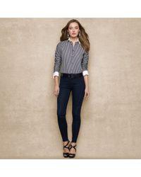 Blue Label Skinny Stretch Jean - Lyst