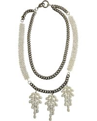 Fenton - Weeping Long V Necklace - Lyst