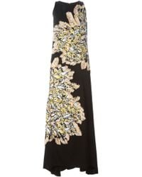 Chloé Fringed Sparkling Jacquard Gown - Lyst