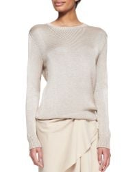 Ralph Lauren Collection Silkcashmere Ballet Sweater - Lyst